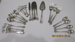 Silver Place Setting 2